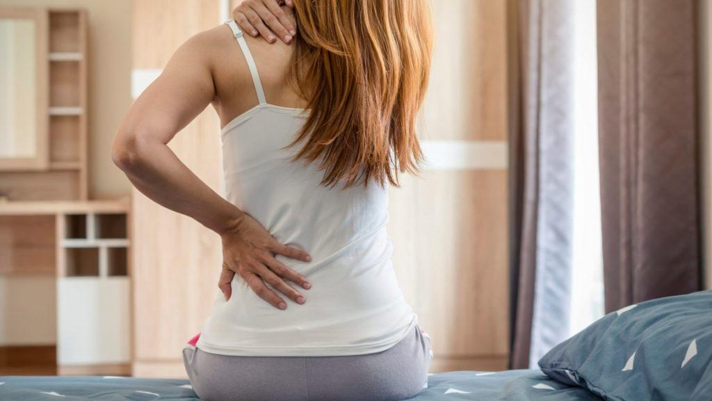 Быстрое снятие боли в спине